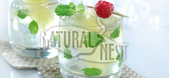 Bird Nest Peppermint Drink